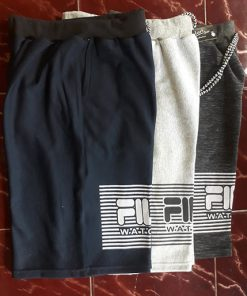 Celana Rip Fleece Tebal