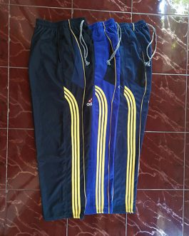 Celana Training Adidas Stripe 3 Bahan Lotto
